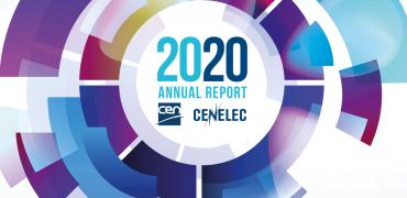 """Letno poročilo evropske standardizacije """"CEN and CENELEC Annual Report 2020"""""""