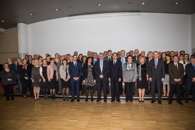 Predsednik ISO in visoki predstavniki mednarodne in evropske standardizacije v Sloveniji